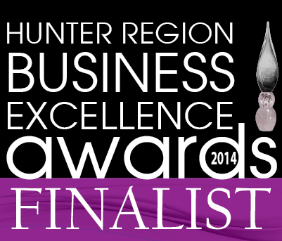 Hunter Region Business Excellence Awards 2014 Finalist