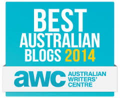 Australian Writers' Centre Best Australian Blogs Award 2014