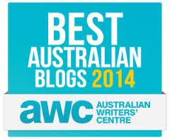 Australian Writers' Centre Best Australian Blogs Award 2014