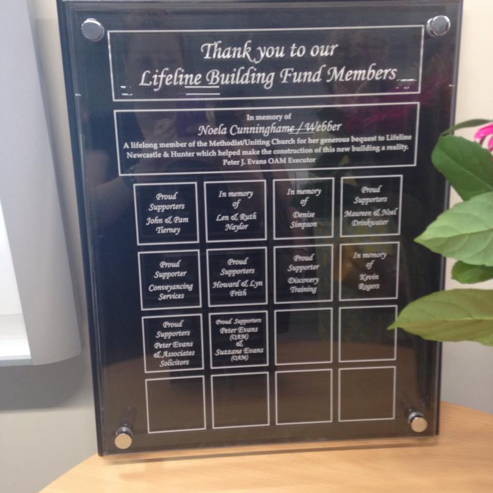 Lifeline Building Fund Members