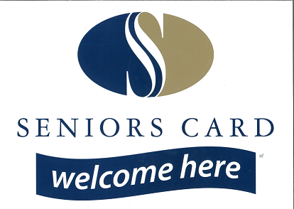 Seniors Cards are welcome here for a discount