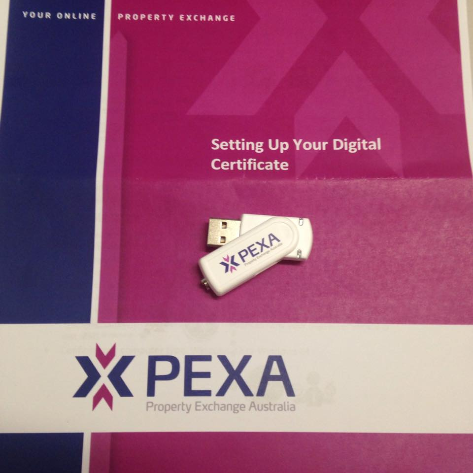 Digital Certificate Package for e-Conveyancing